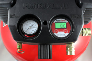 Prestaflator Digital Gauge for Air Compressors & Floor Pumps