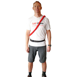 How best to wear your TowWhee Bungee and Waist Belt