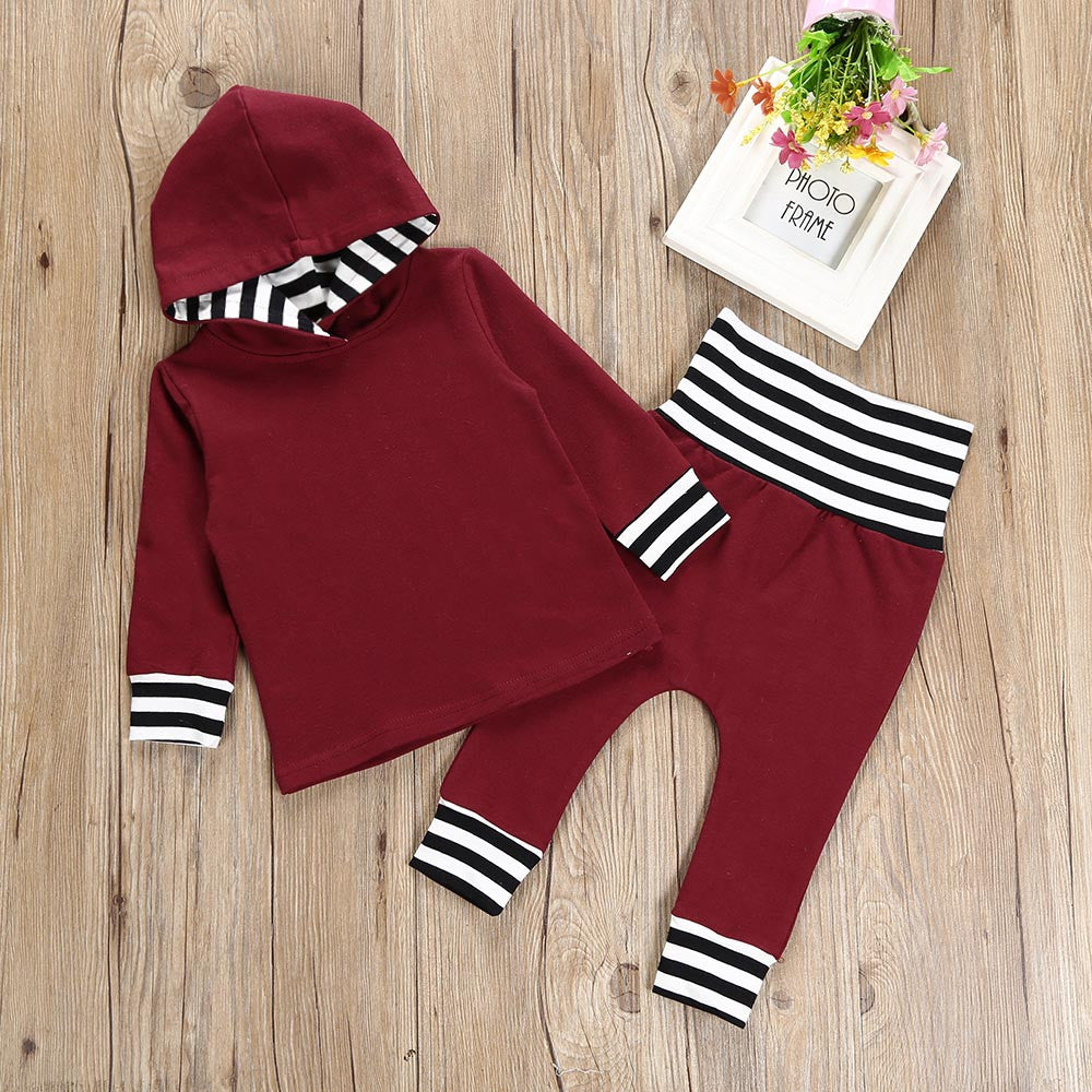 Burgundy Baby Clothes