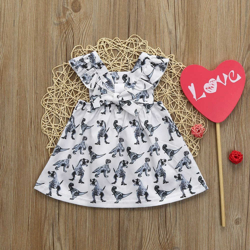 Dinosaur Bow Dress