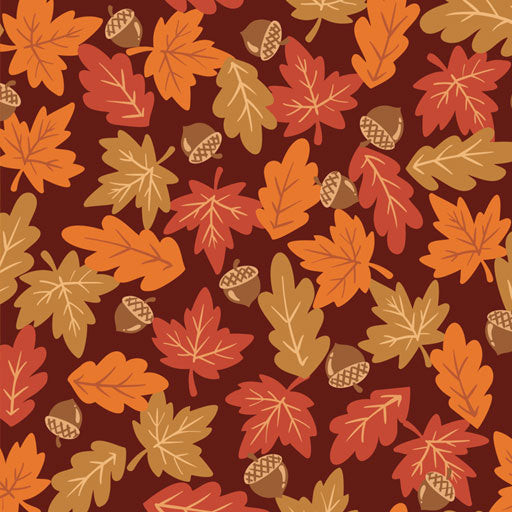 "Falling Leaves Easy Patterns 12"" Pattern Heat Transfer Vinyl / Siser Easy Patterns / Printed HTV"