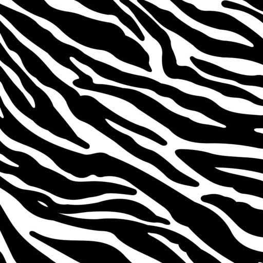 "Zebra Easy Patterns 12"" Pattern Heat Transfer Vinyl / Siser Easy Patterns / Printed HTV"