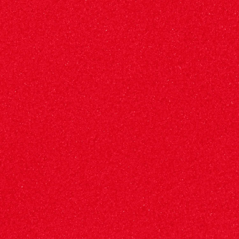 "Bright Red 12"" Siser Strip Flock HTV / Heat Transfer Vinyl"