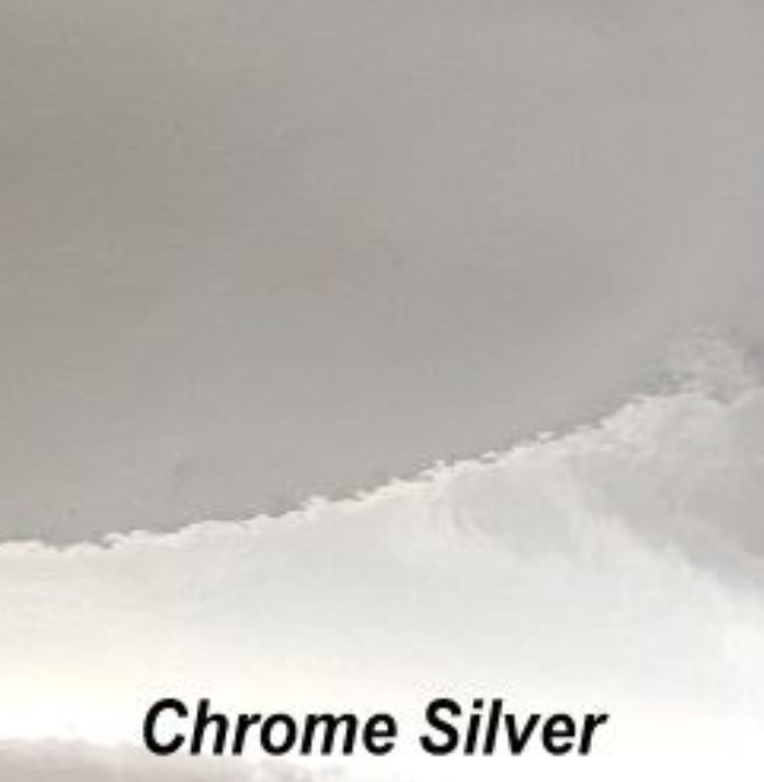 Holographic - Chrome Silver - Permanent Adhesive Vinyl