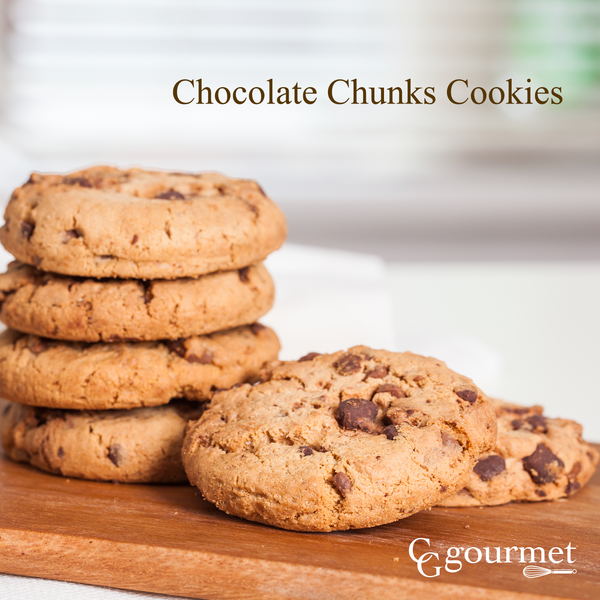 Chocolate Chunks Cookies | Made with Belcolade Belgian Baking Chocolate