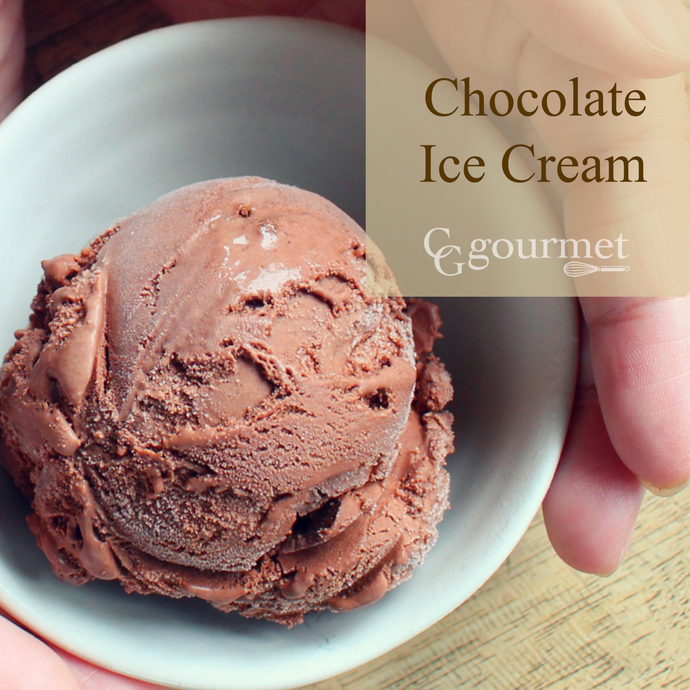 Easy Dark Chocolate Ice Cream Recipe