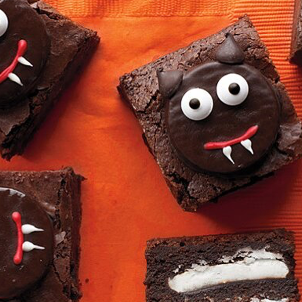 Scaredy-Cat Chocolate Brownies