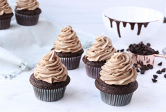 Vegan Chocolate Cupcakes Gluten Free Fair Trade Non-GMO