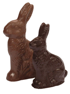 Easter Gourmet Chocolate Gift Box - Milk and Dark Bunnies, Chicks and Eggs | 8 OZ | 29 chocolates
