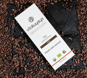 VILLAKUYAYA Organic Dark Chocolate Variety Pack 3 bars | Ecuador | Keto friendly