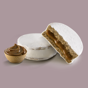 HAVANNA 6 Alfajores filled with Dulce de Leche and covered in Italian White Merengue