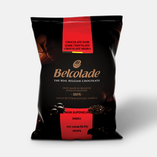 Load image into Gallery viewer, Belcolade Belgian Dark Chocolate Noir Superieur 60.5% | Bulk couverture 11LB/ 5KG | Free Shipping