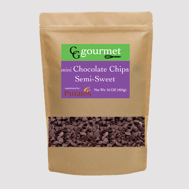 Puratos mini dark chocolate chips