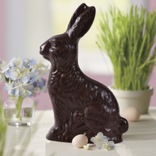 Load image into Gallery viewer, Easter Gourmet Milk Chocolate Bunny Gift Bag - 8 OZ - 8 in tall | Made with Belcoalde