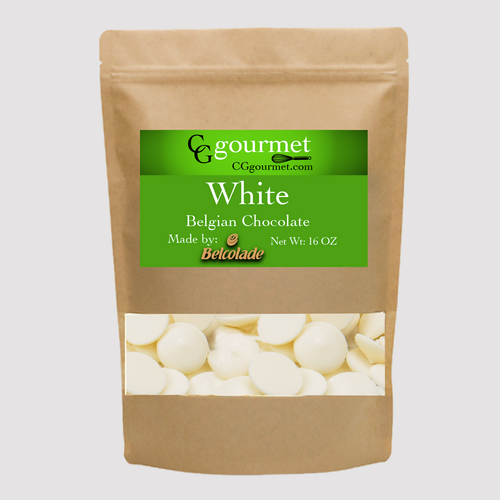 BELCOLADE Baking White Chocolate Wafers - 16 OZ