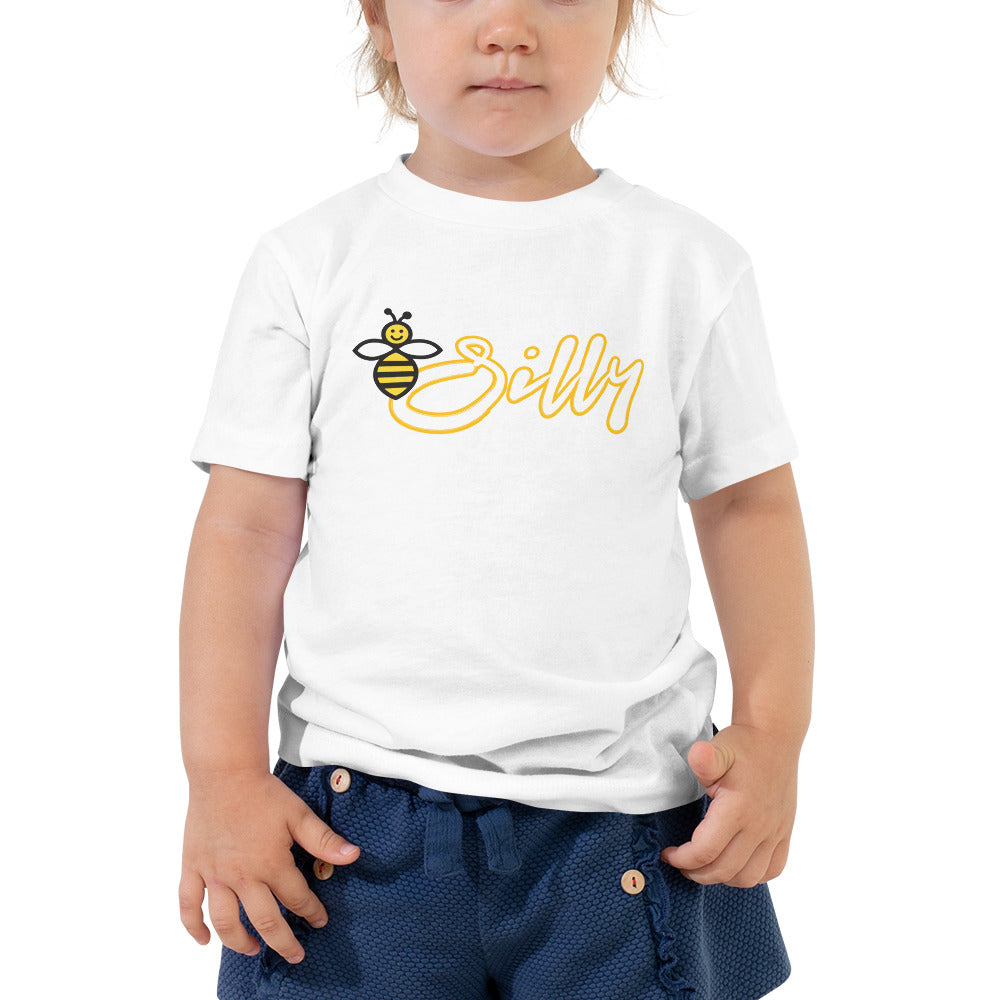 Bee Silly Toddler Short Sleeve Tee