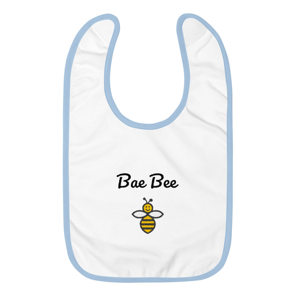 Bae Bee Embroidered Bib
