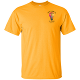 eThought Christian Apparel - The Lord is My Light - Psalm 27:1 - Ultra Cotton T-Shirt - Lighter Colors