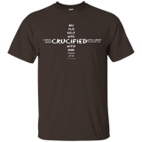 eThought Christian Apparel - Crucified With Christ - Ultra Cotton T-Shirt