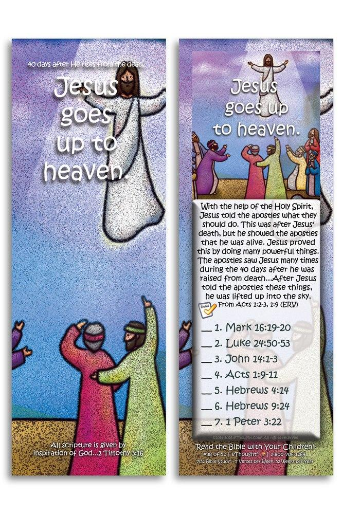 Jesus Goes up to Heaven - Pack of 25 Cards -