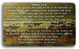 Bible Cards & Bookmarks - Recipe For Prayer Index Card Kit