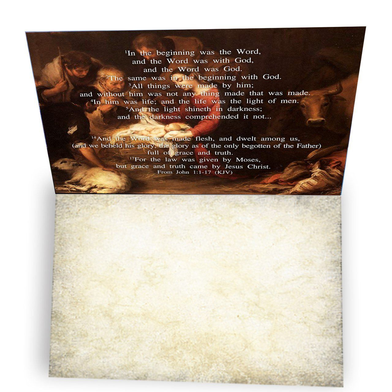 The Word Jesus Was Made Flesh Greeting Card Boxed Set Of 10 Ethought