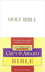 Bibles - KJV Gift & Award Bible: White Imitation Leather