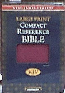 Bibles - KJV Large Print Compact Reference Bible Leather Bound