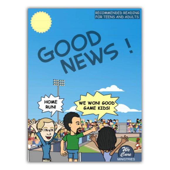 Themes - Gospel Message In Comic Book Format - Pack Of 10