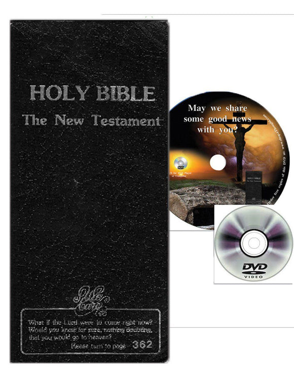 Themes - Holy Bible New Testament Soul Winners' Edition With Free Companion DVD
