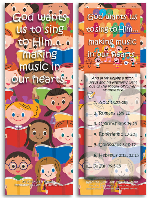 Daily Bible Reading program for children