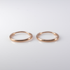 14K Rose Gold 10mm Small Hoop Earrings