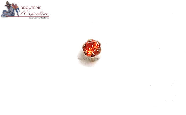 Boucle de nez Or 18Kt oz orange