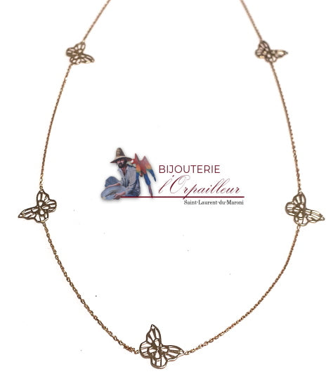 Collier Papillons