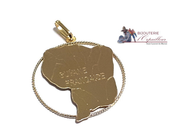 Pendentif Guyane Or 18Kt | pour Homme