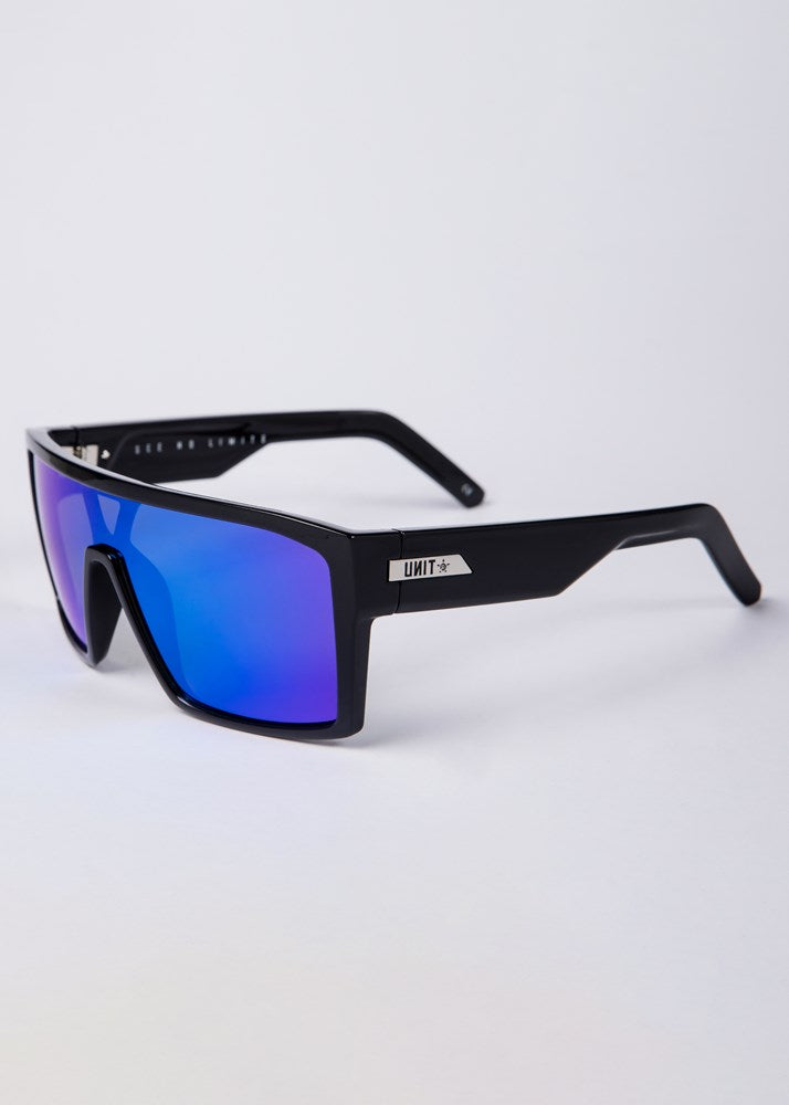 UNIT Sunglasses Command - Black Blue Polarised