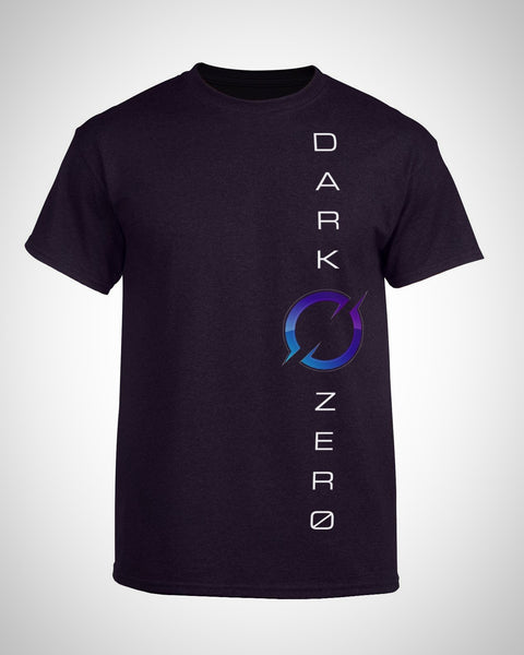 DarkZero Vertical Color T-Shirt - Midnight Purple