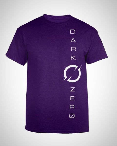 DarkZero Vertical T-Shirt - Dusk Purple