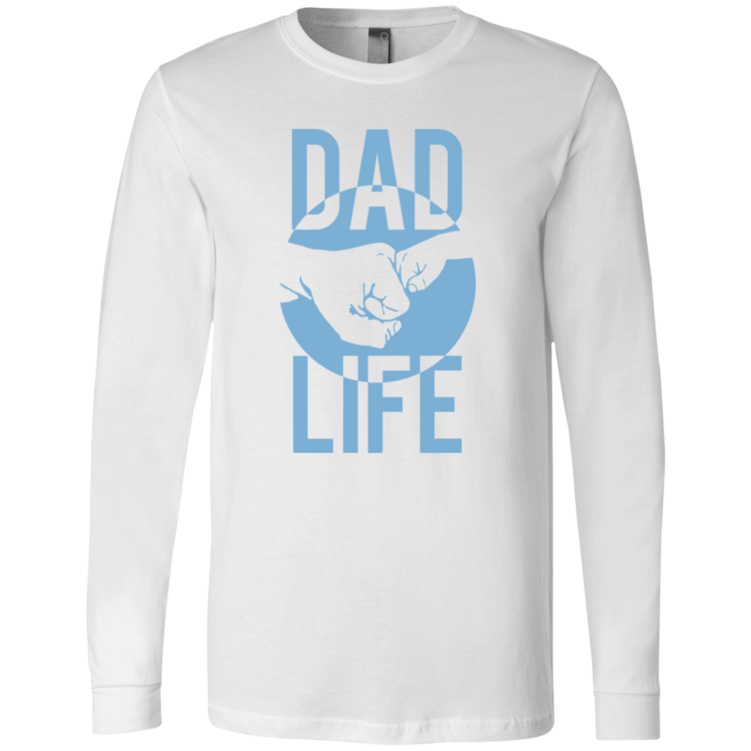 Dad Life: Fist Bump Long Sleeve Tee