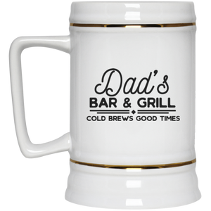 Dad's Bar & Grill - Beer Stein 22oz.