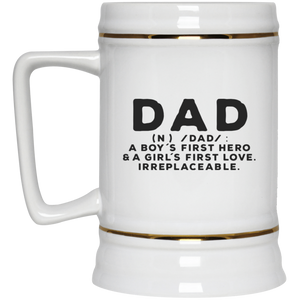 Dad definition - Beer Stein 22oz.