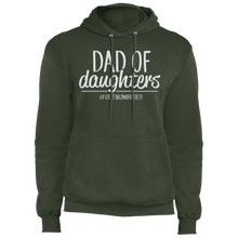 Load image into Gallery viewer, Dad of Daughters - Fleece Pullover Hoodie