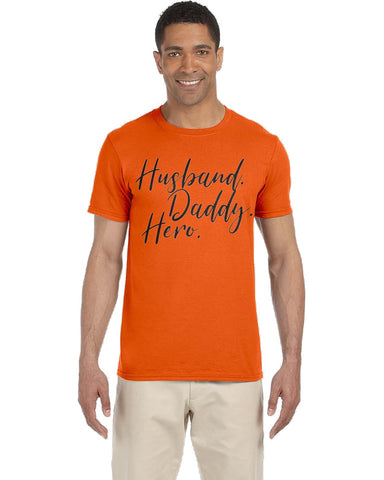 Image of Husband Daddy Hero Tee