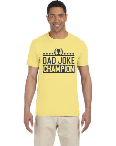 Dad Joke Champion Tee