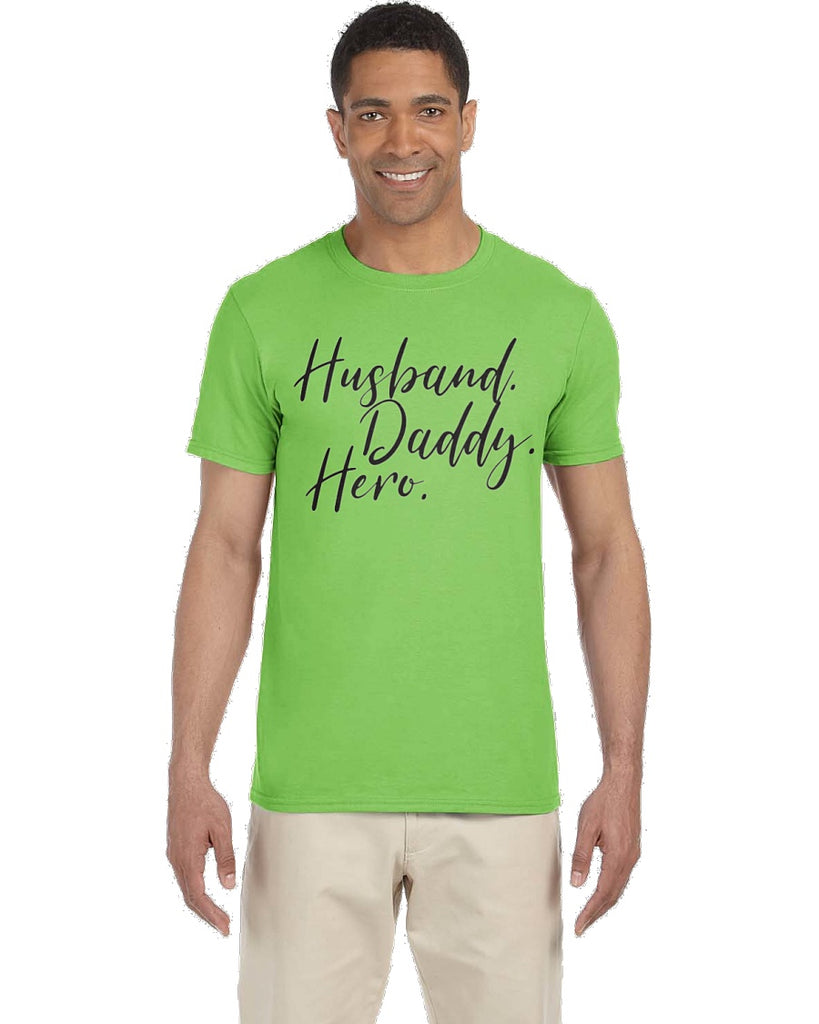 Husband Daddy Hero Tee