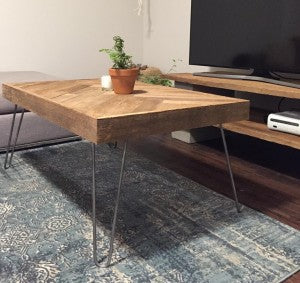 Vancouver Hairpin legs Coffee Table