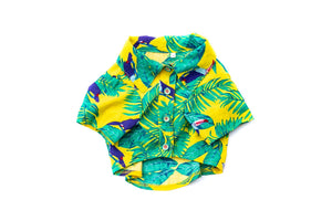 Pupreme In The Tropics Top: Yellow