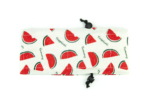 Cool Summer Ice Pack Collar: Watermelon