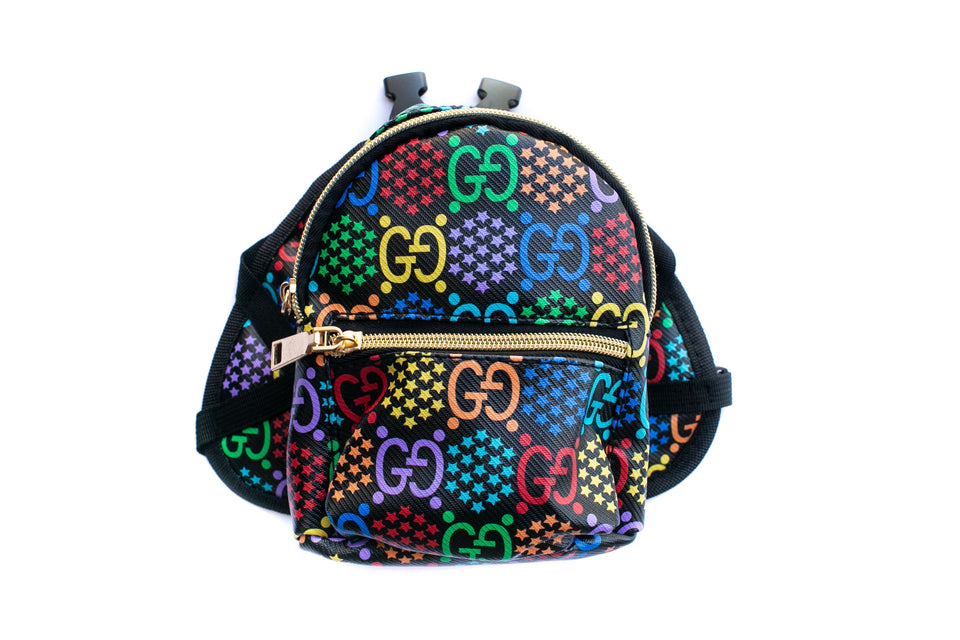 Poochi Backpack: Multi