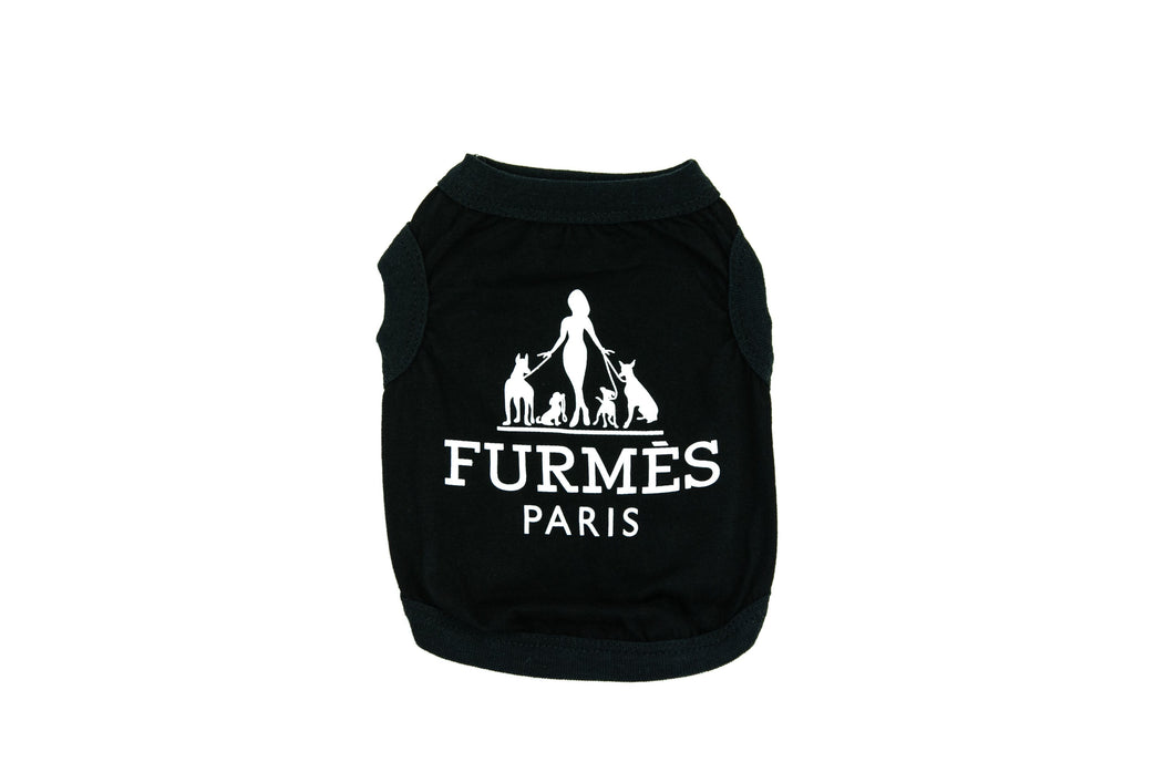 Furmes Paris Shirt: Black